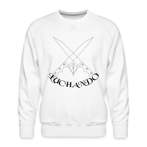 design 1 - Herre premium sweatshirt