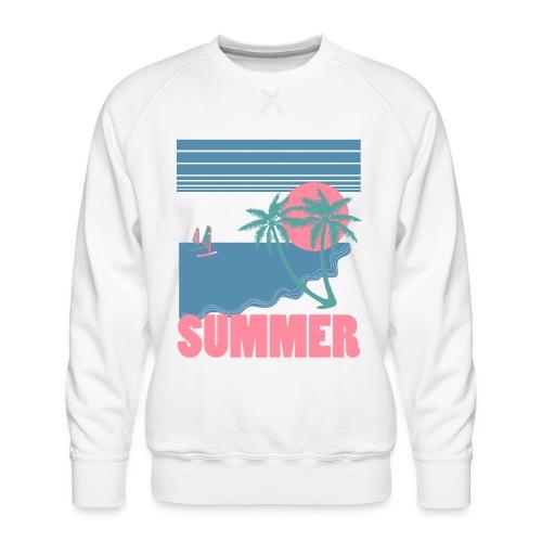 summer - Sudadera premium para hombre
