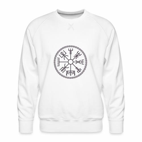Vegvisir wayfinder viking compass - Miesten premium-collegepaita