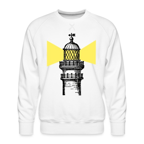 lighthouse - Sudadera premium para hombre