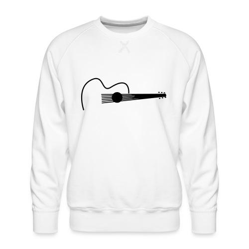 Accoustic Guitar Draw - Männer Premium Pullover