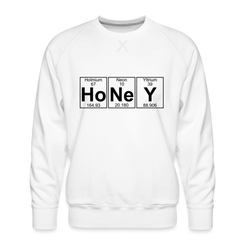 Ho-Ne-Y (honey) - Full - Men's Premium Sweatshirt