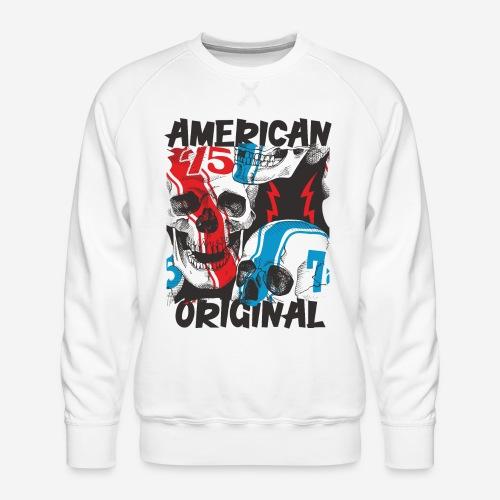 usa american original - Männer Premium Pullover