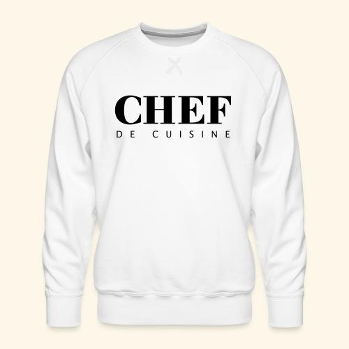 BOSS de cuisine - logotype - Men's Premium Sweatshirt