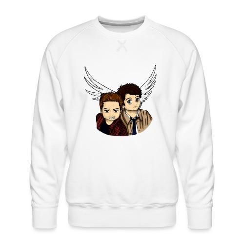 Destiel i farver - Herre premium sweatshirt