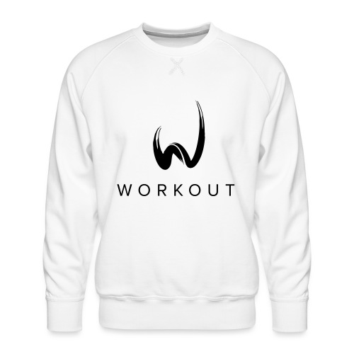 Workout mit Url - Männer Premium Pullover