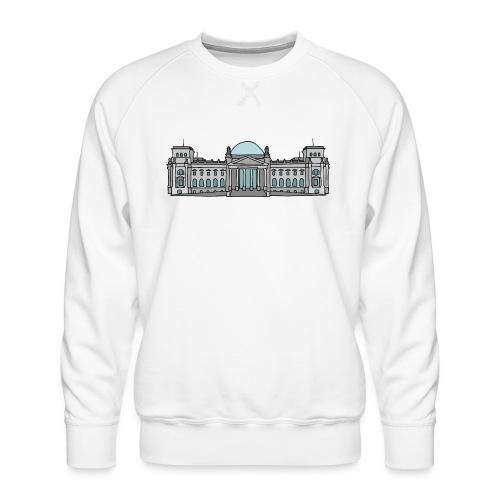 Palazzo del Reichstag a BERLINO c - Felpa premium da uomo