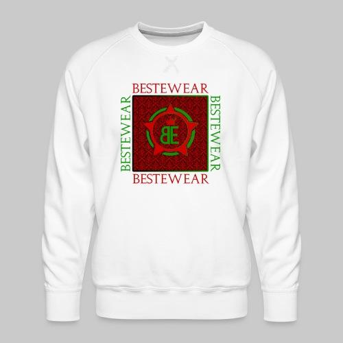#Bestewear - Royal Line (Green/Red) - Männer Premium Pullover