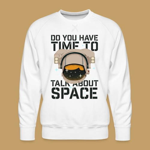 Time for Space - Bluza męska Premium