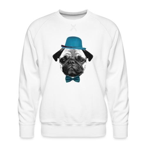 Mops Puppy - Männer Premium Pullover