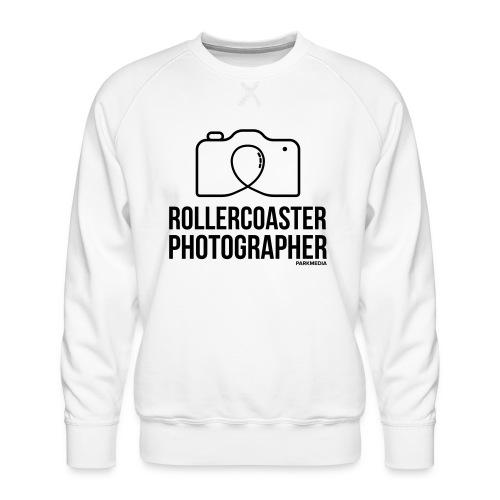 Photographe de montagnes russes - Sweat ras-du-cou Premium Homme