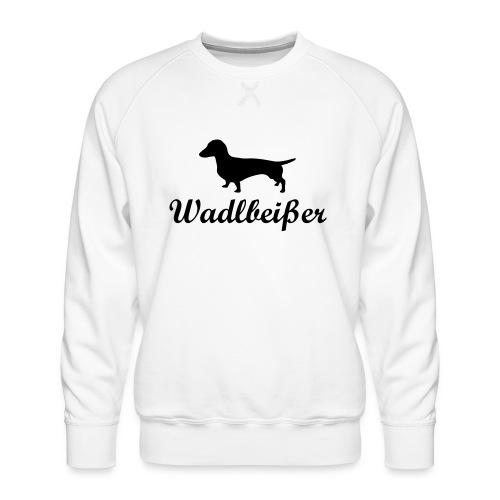 wadlbeisser_dackel - Männer Premium Pullover