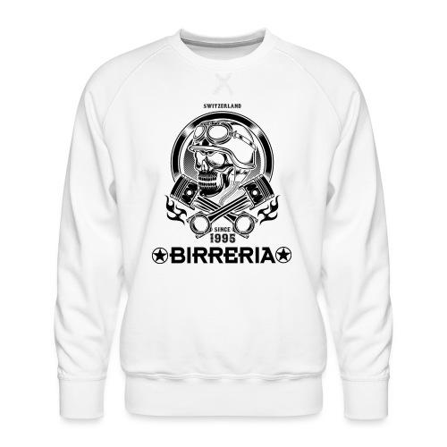 Biker Skull Piston - Männer Premium Pullover
