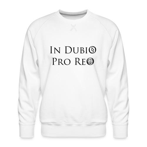 In Dubio pro Reo - Männer Premium Pullover