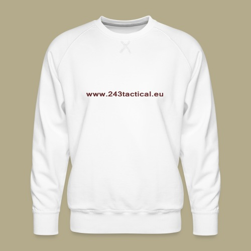 .243 Tactical Website - Mannen premium sweater