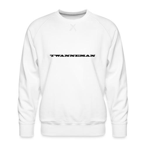 tmantxt - Mannen premium sweater