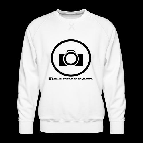 sort2 png - Herre premium sweatshirt