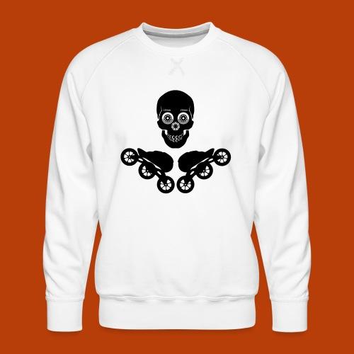 Skull + Skates 125mm - Männer Premium Pullover