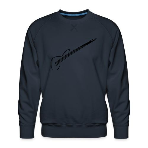 E-Bass - Männer Premium Pullover