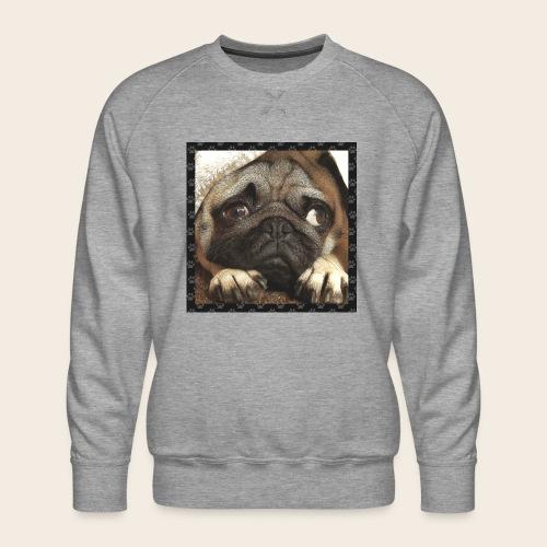 Mops Hund 1 - Männer Premium Pullover