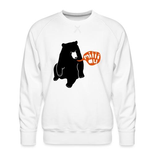 Bär sagt Miau - Männer Premium Pullover