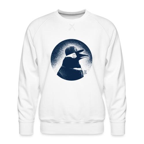 Pinguin dressed in black - Men's Premium Sweatshirt