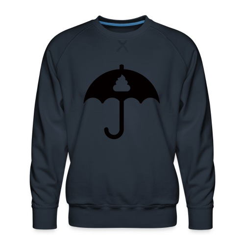 Shit icon Black png - Men's Premium Sweatshirt