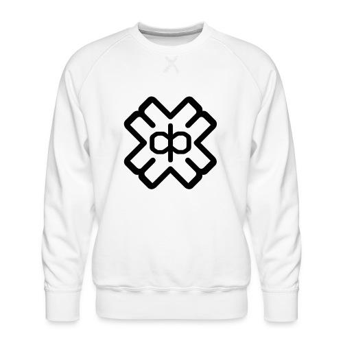 d3ep logo black png - Men's Premium Sweatshirt