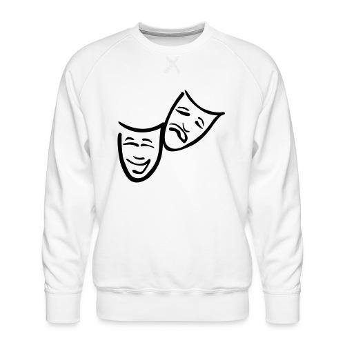 Theatermasken - Männer Premium Pullover