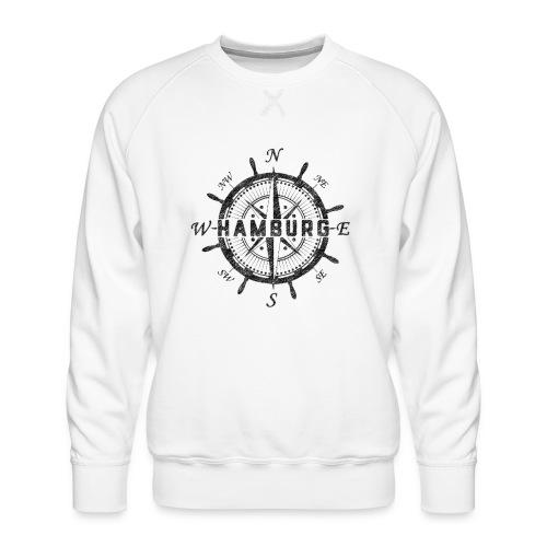 Hamburg Kompass - Männer Premium Pullover