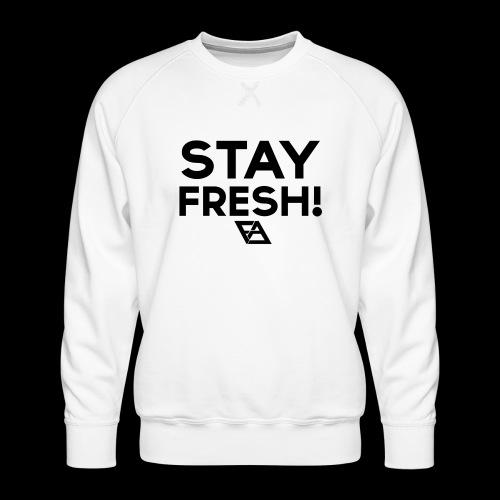 STAY FRESH! T-paita - Miesten premium-collegepaita