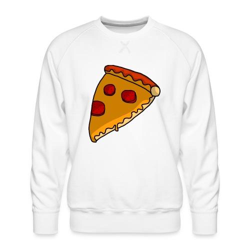 pizza - Herre premium sweatshirt