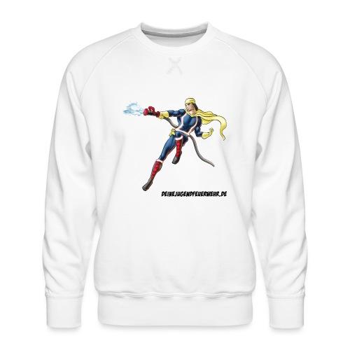 Captain Firefighter - Männer Premium Pullover