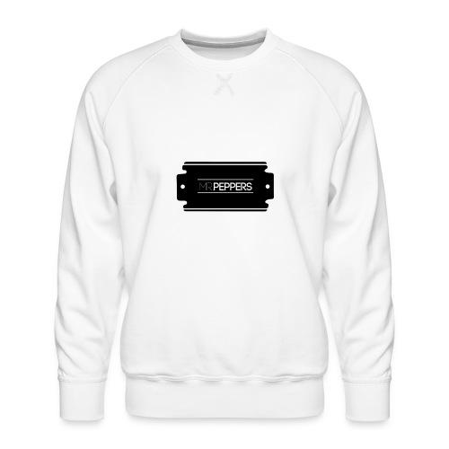 MR PEPPERS Logo classic - Männer Premium Pullover
