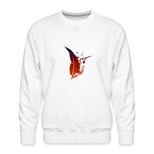Colibri flamboyant - Sweat ras-du-cou Premium Homme