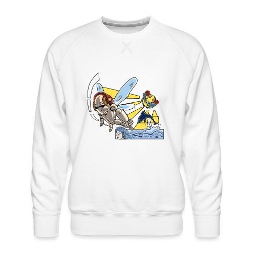 Sunshine buzz - Mannen premium sweater
