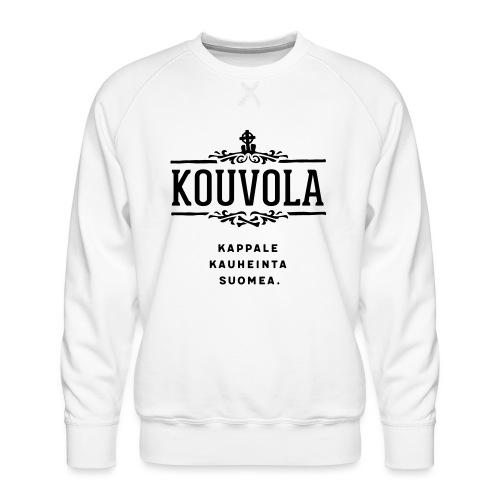 Kouvola - Kappale kauheinta Suomea. - Miesten premium-collegepaita