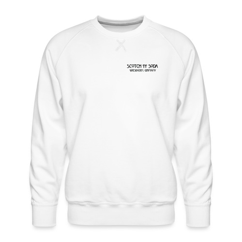 Goldgasse 9 - Front - Men's Premium Sweatshirt
