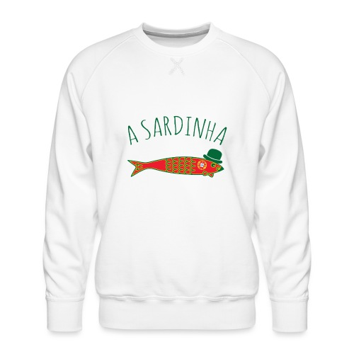 A Sardinha - Bandeira - Sweat ras-du-cou Premium Homme