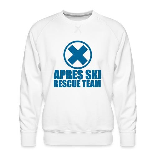 apres-ski rescue team - Mannen premium sweater