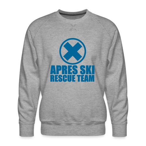 apres-ski rescue team - Mannen premium sweater