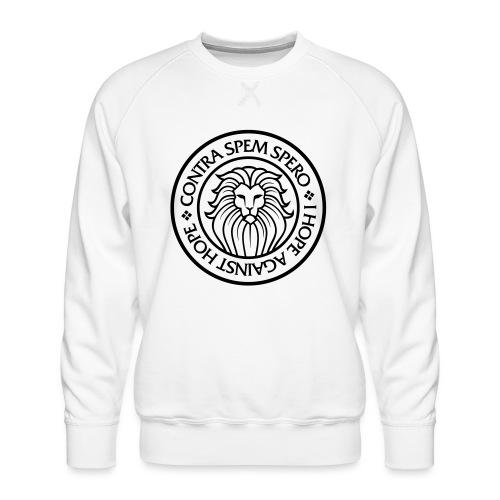 Contra Spem Spero - Men's Premium Sweatshirt