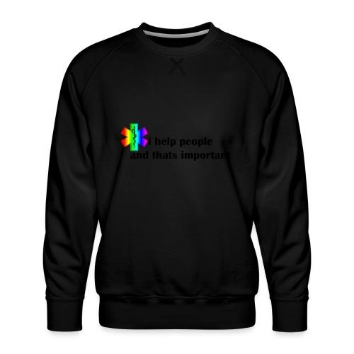 Emergency Gay Services - Mannen premium sweater