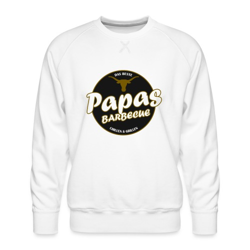 Papas Barbecue ist das Beste (Premium Shirt) - Männer Premium Pullover