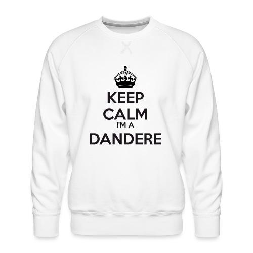 Dandere keep calm - Men's Premium Sweatshirt