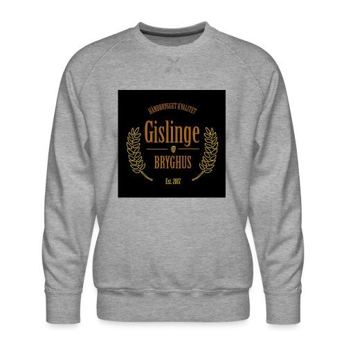 Sort logo 2017 - Herre premium sweatshirt