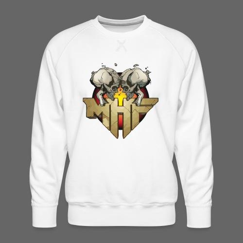 new mhf logo - Men's Premium Sweatshirt