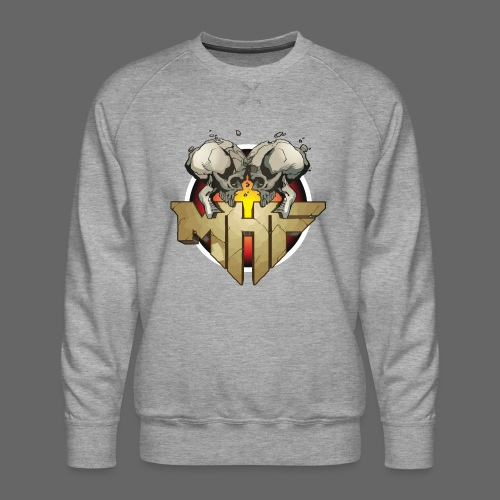 new mhf logo - Men's Premium Sweatshirt