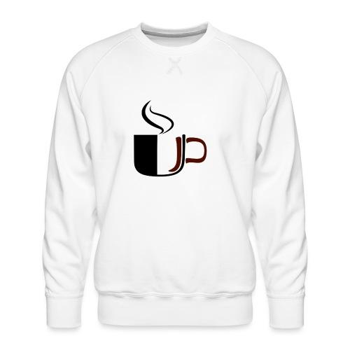 JU Kahvikuppi logo - Miesten premium-collegepaita