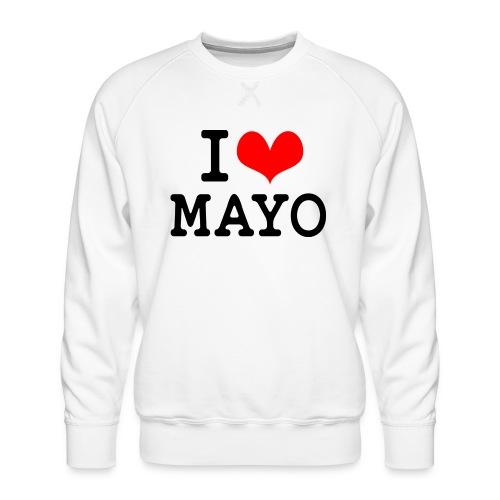 I Love Mayo - Men's Premium Sweatshirt